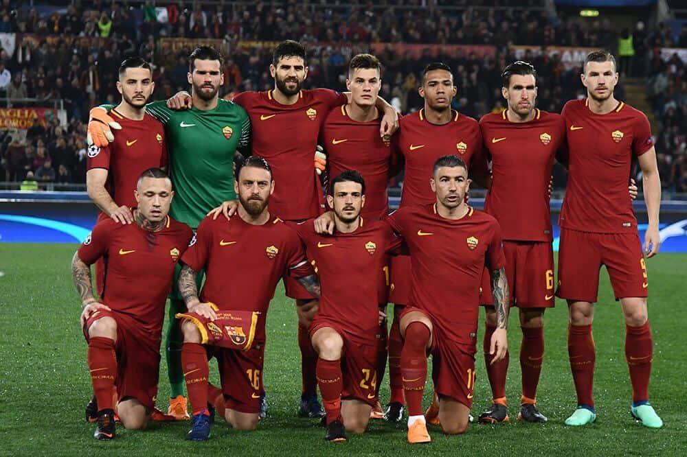 foto tim sepakbola ROMA
