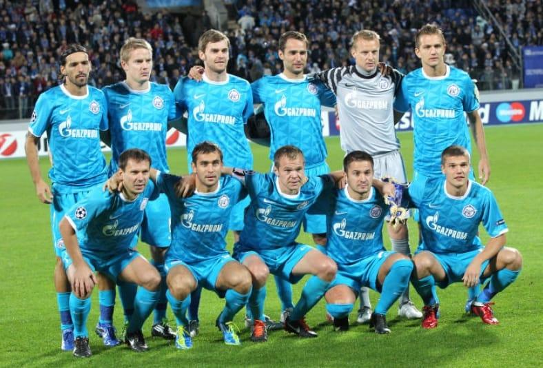 foto tim football ZENIT