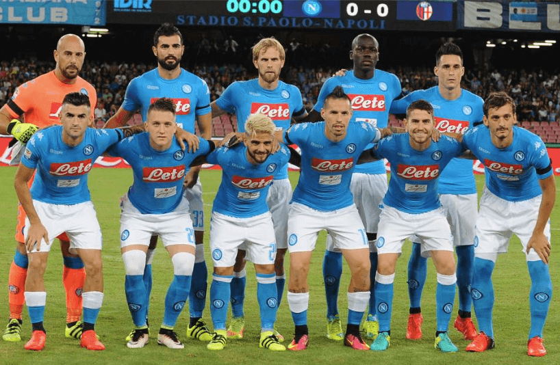 FOTO TIM FOOTBALL NAPOLI
