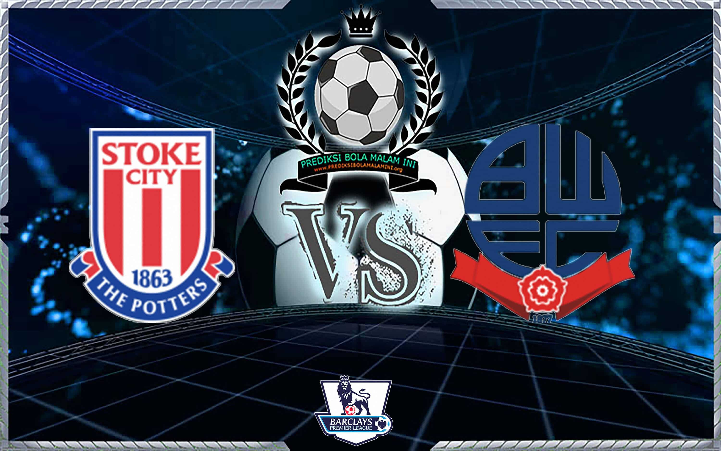 Predictable Skor STOKE CITY VS BOLTON WANDERERS 3 Oktober 2018