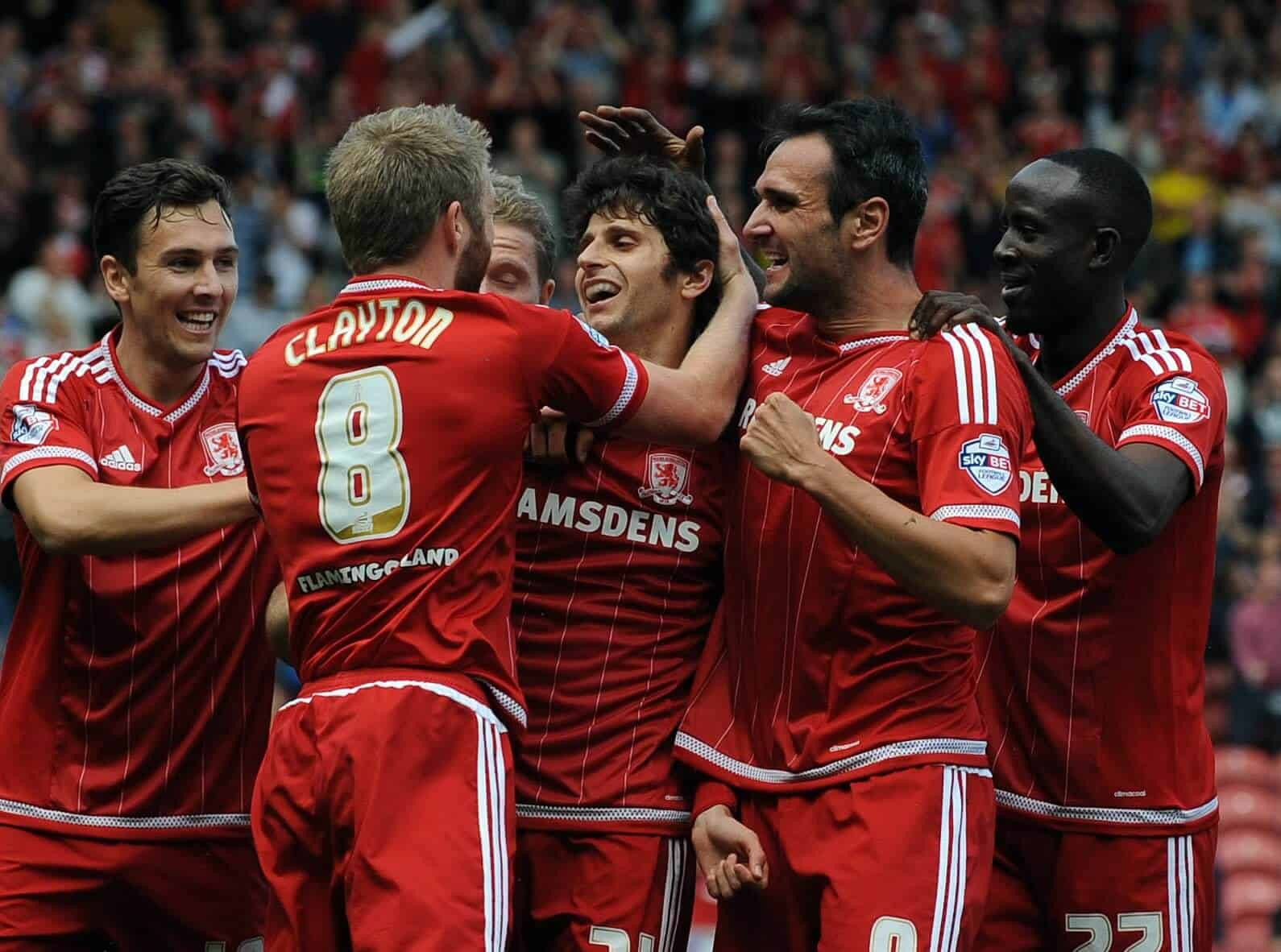 foto TEAM FOOTBALL MIDDLESBROUGH