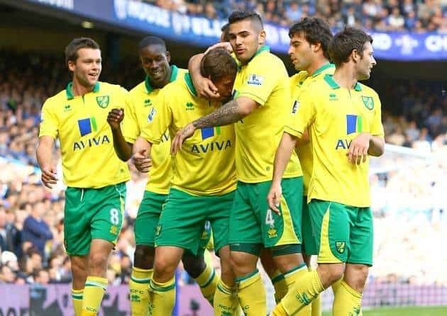 foto TIM FOOTBALL NORWICH CITY