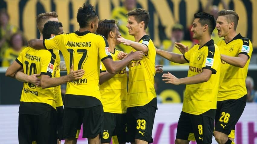 foto team football BORUSSIA DORTMUND