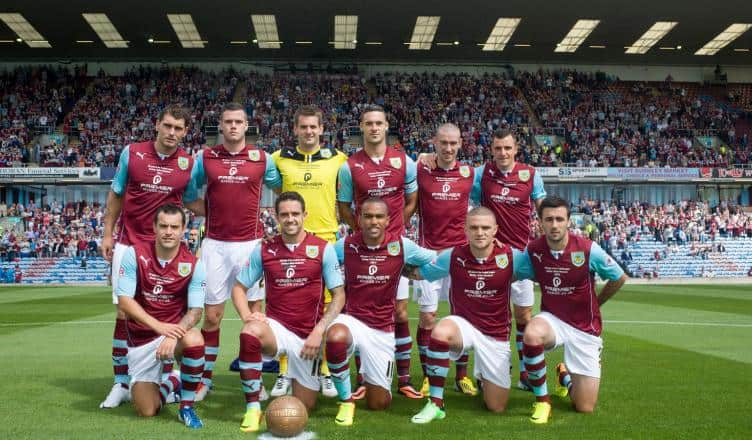 foto team football BURNLEY