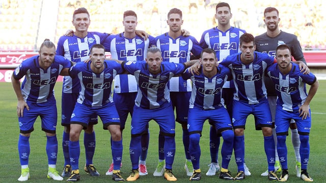 foto team football DEPORTIVO ALAVÉS