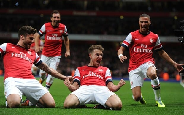 foto tim sepak bola ARSENAL