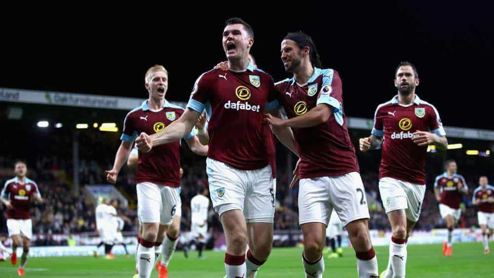 foto tim football BURNLEY