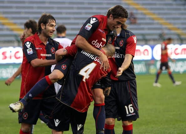 foto tim football CAGLIARI