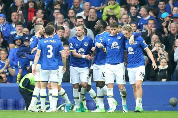 foto team football EVERTON
