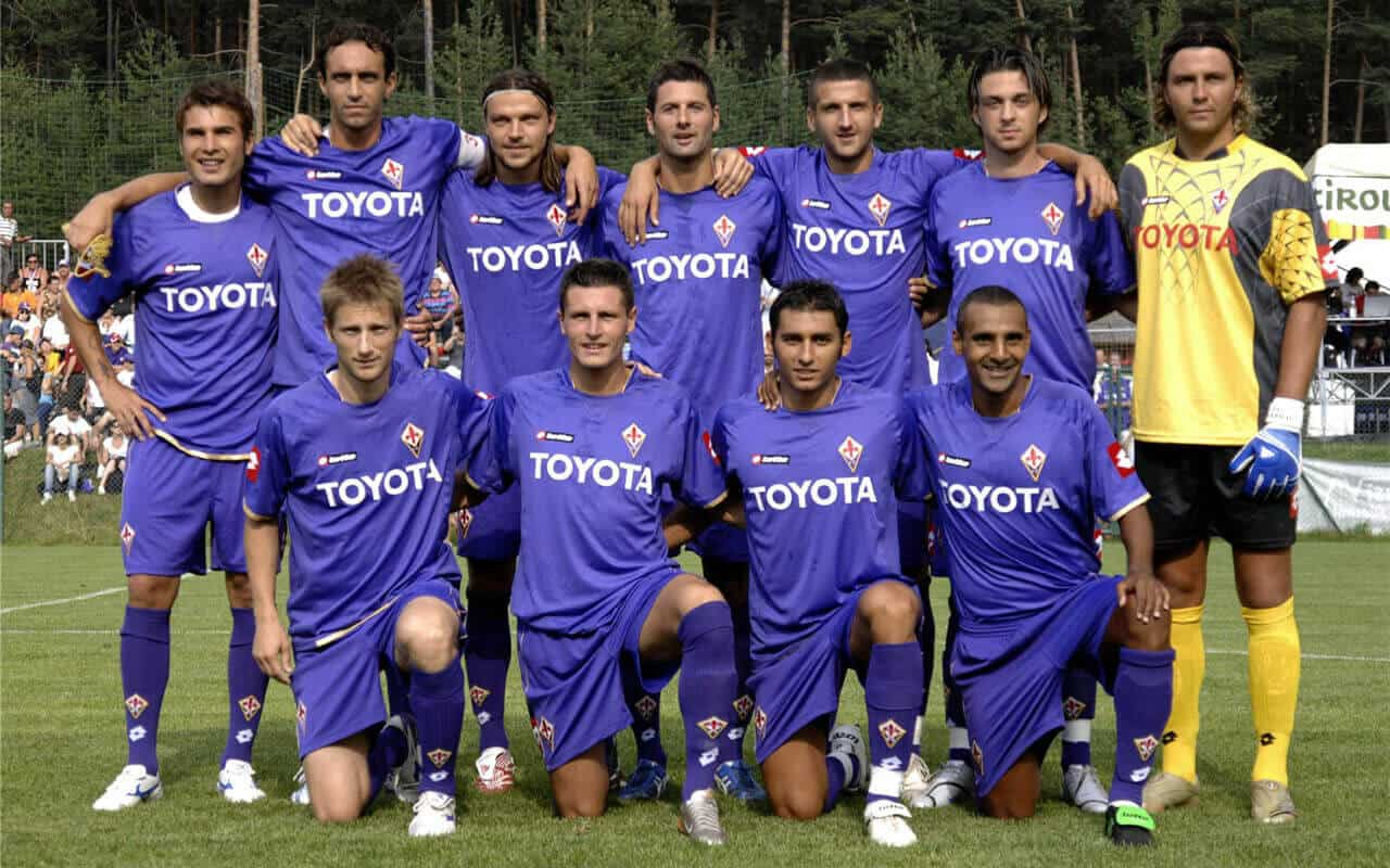 foto team football FIORENTINA