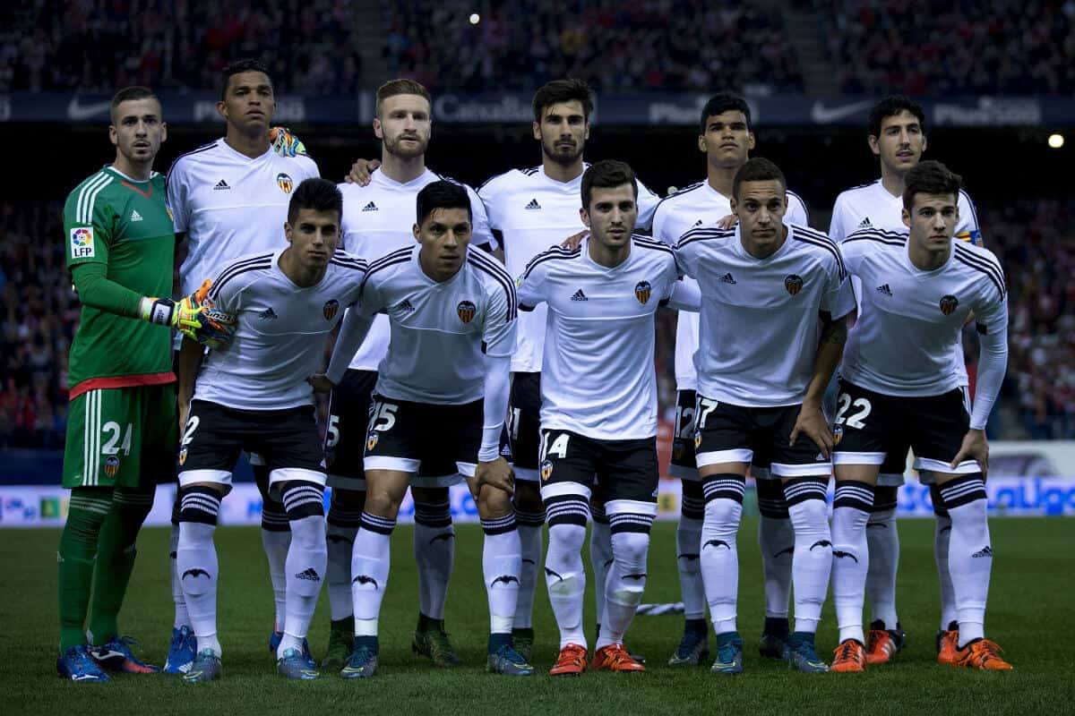 foto team football VALENCIA
