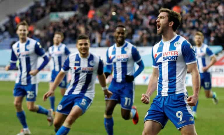 foto tim sepakbola WIGAN ATHLETIC