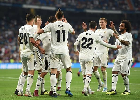 real madrid football team 2018