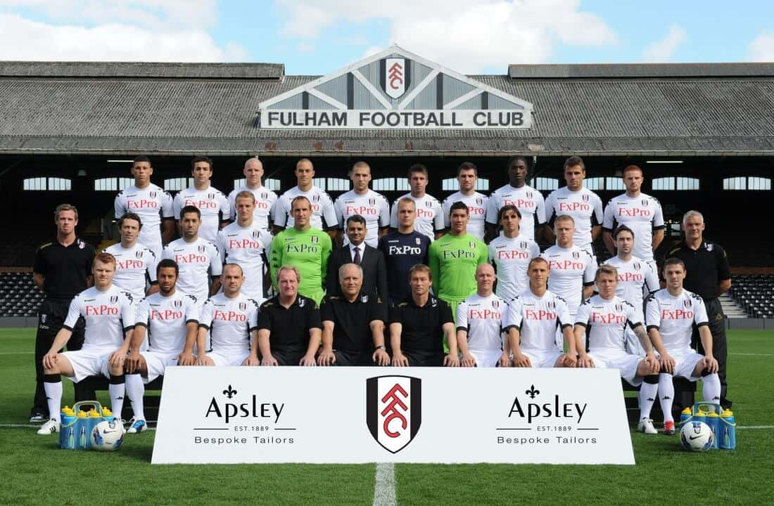 FULHAM team football 2019