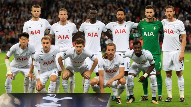 TOTTENHAM HOTSPUR team football 2019
