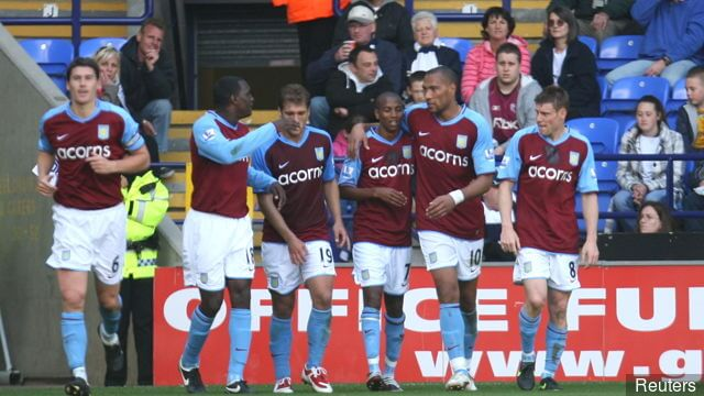 foto team ASTON VILLA