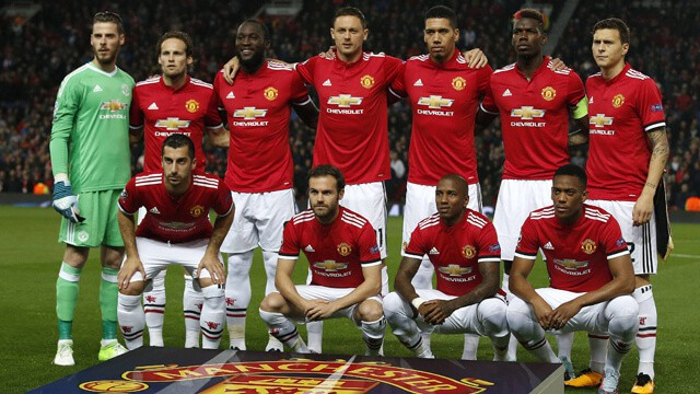 foto team MANCHESTER UNITED