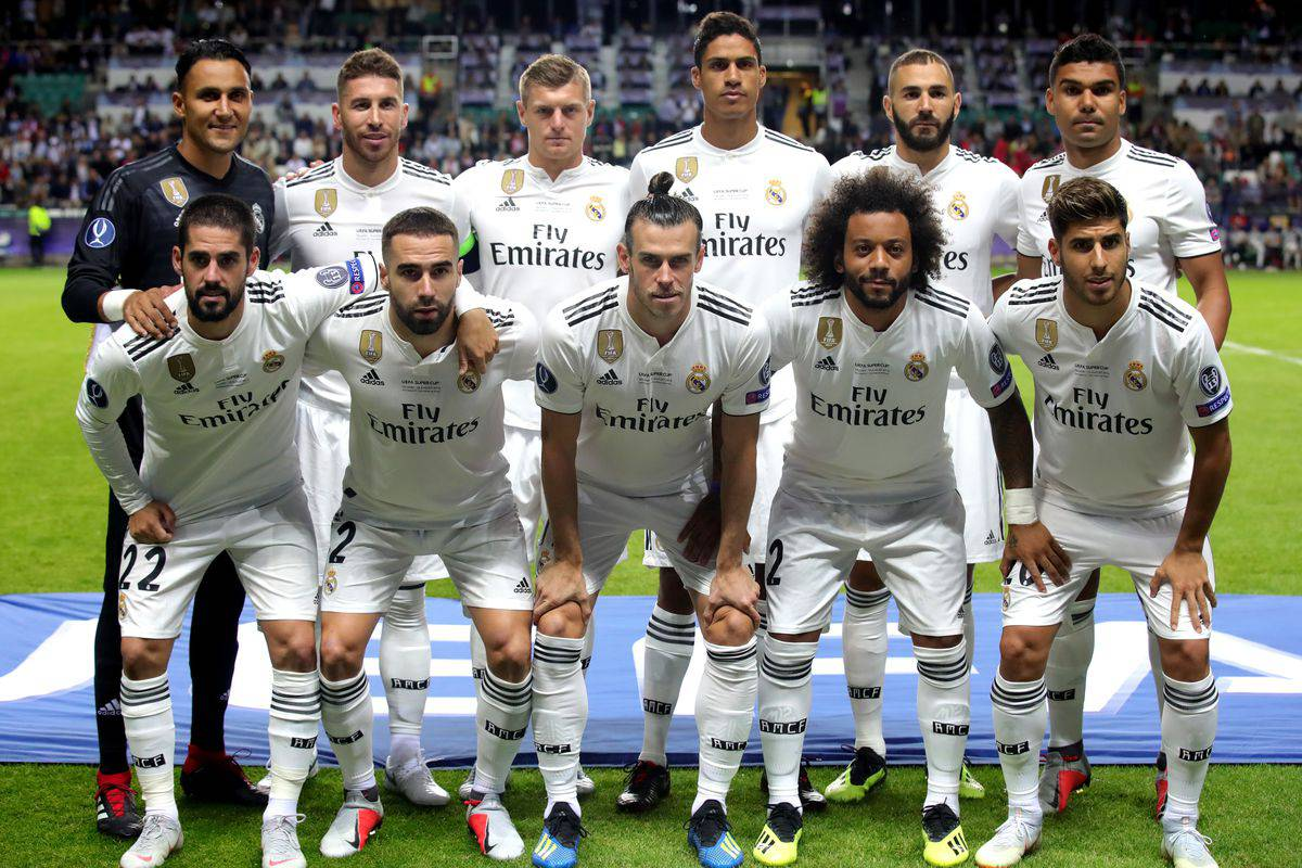 tim foto REAL MADRID