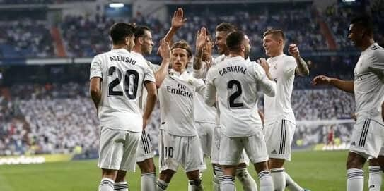 foto team REAL MADRID