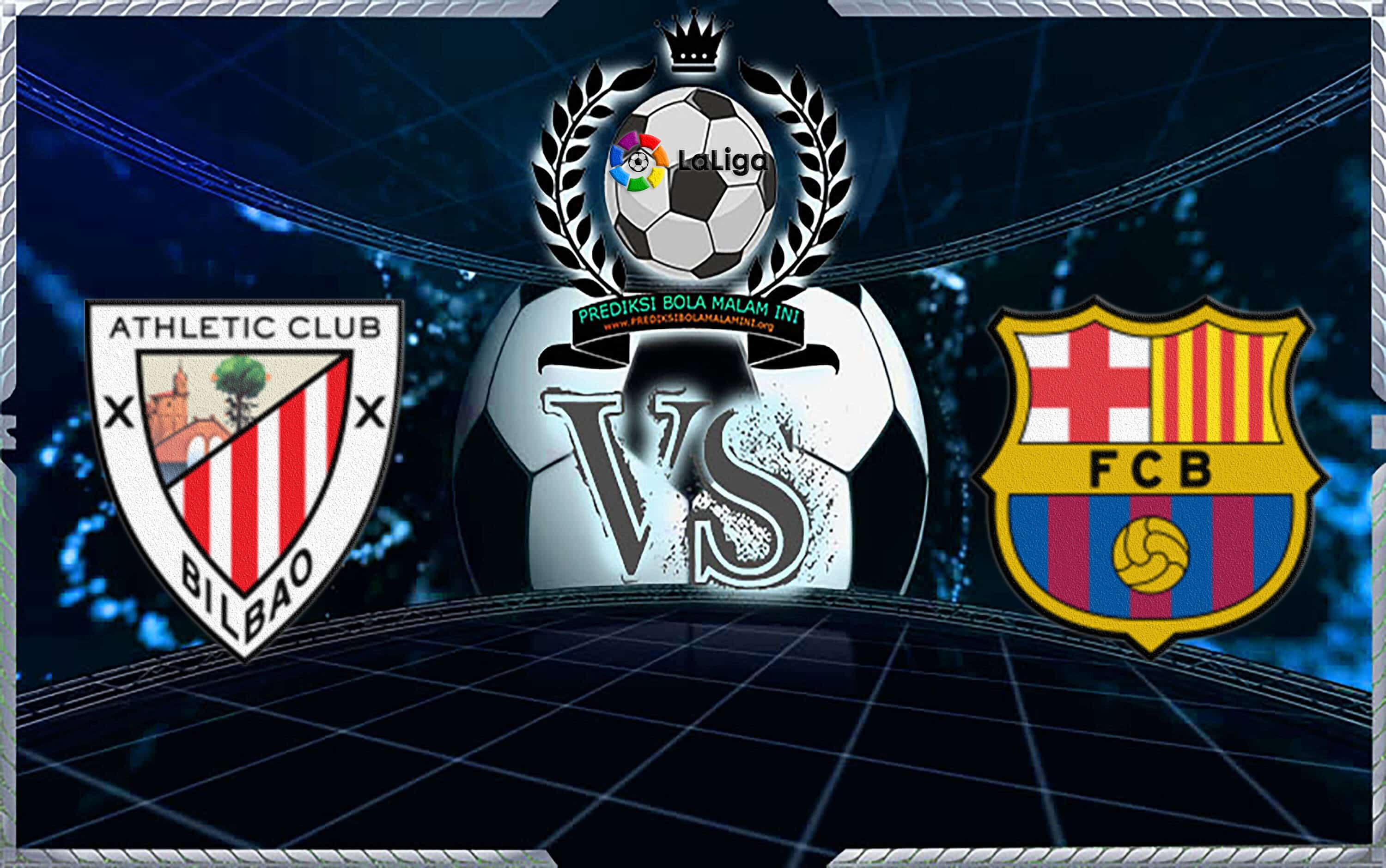 Prediksi Skor ATHLETIC CLUB Vs BARCELONA, Februari 2019