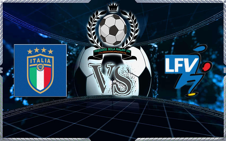 Skor Prediksi Italia Vs Liechtenstein 27 Maret 2019