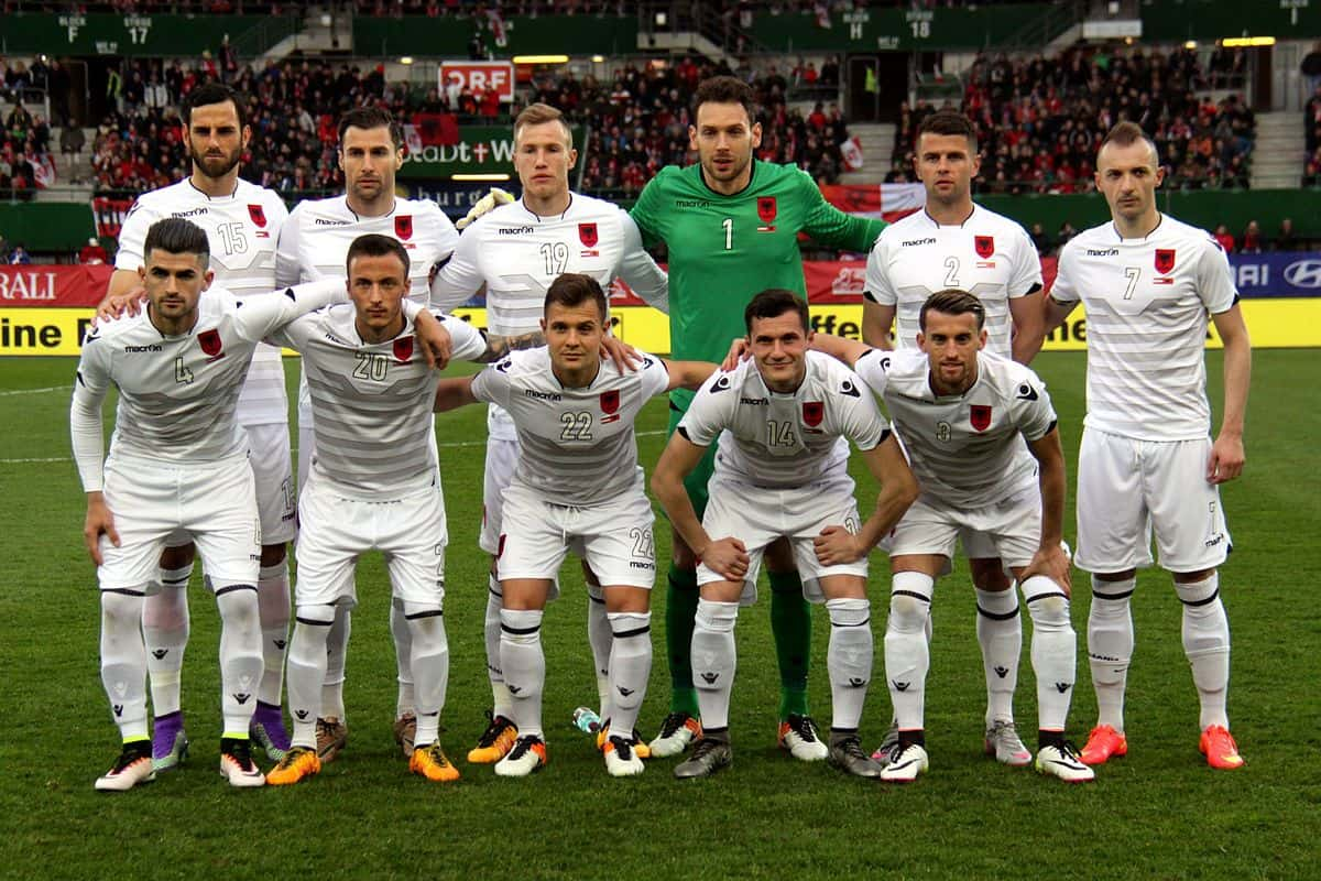 tim foto Football ALBANIA &quot;width =&quot; 640 &quot;height =&quot; 427 &quot;/&gt; </p> <p> <span style=