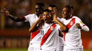 foto tim Sepak Bola Peru
