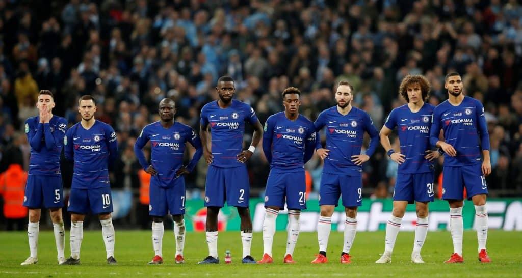 Fotboll, Engelska ligacupen, Manchester City - Chelsea