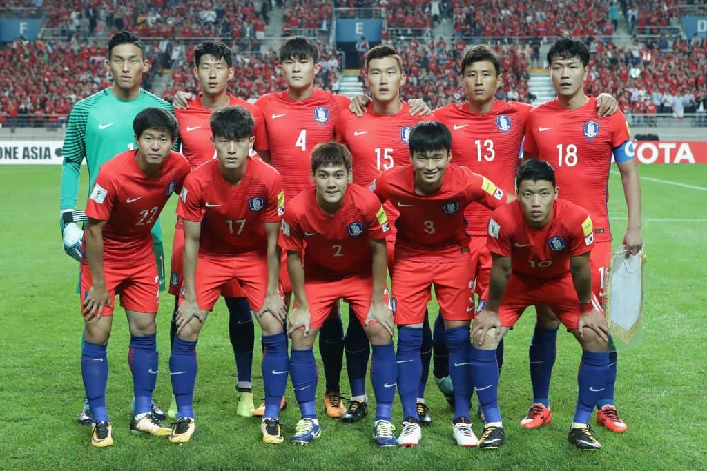 foto tim sepak bola KOREA REPUBLIK