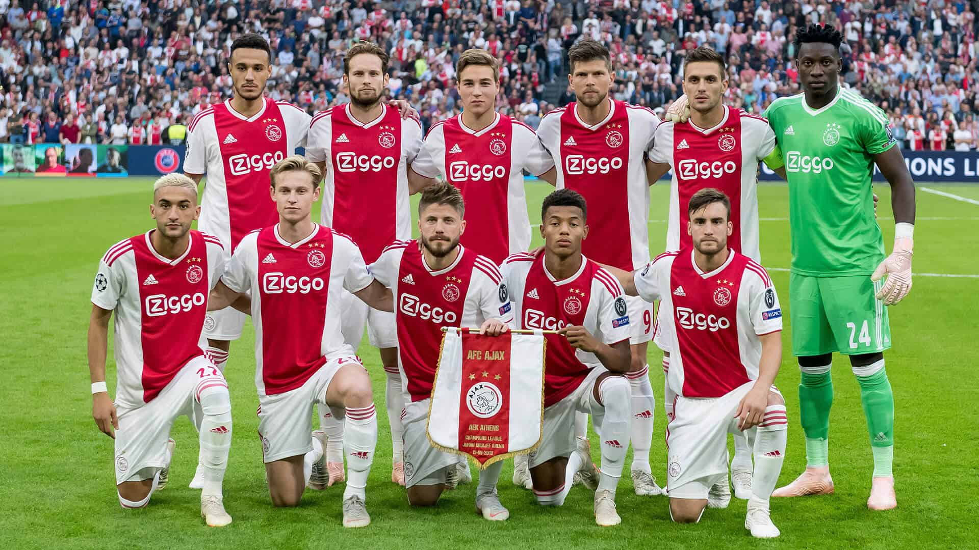 AJAX football team 2019