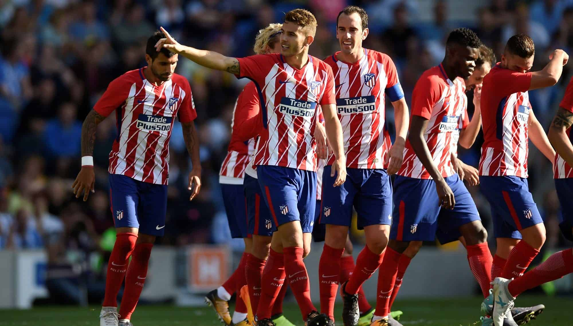 ATLÉTICO MADRID football team 2019