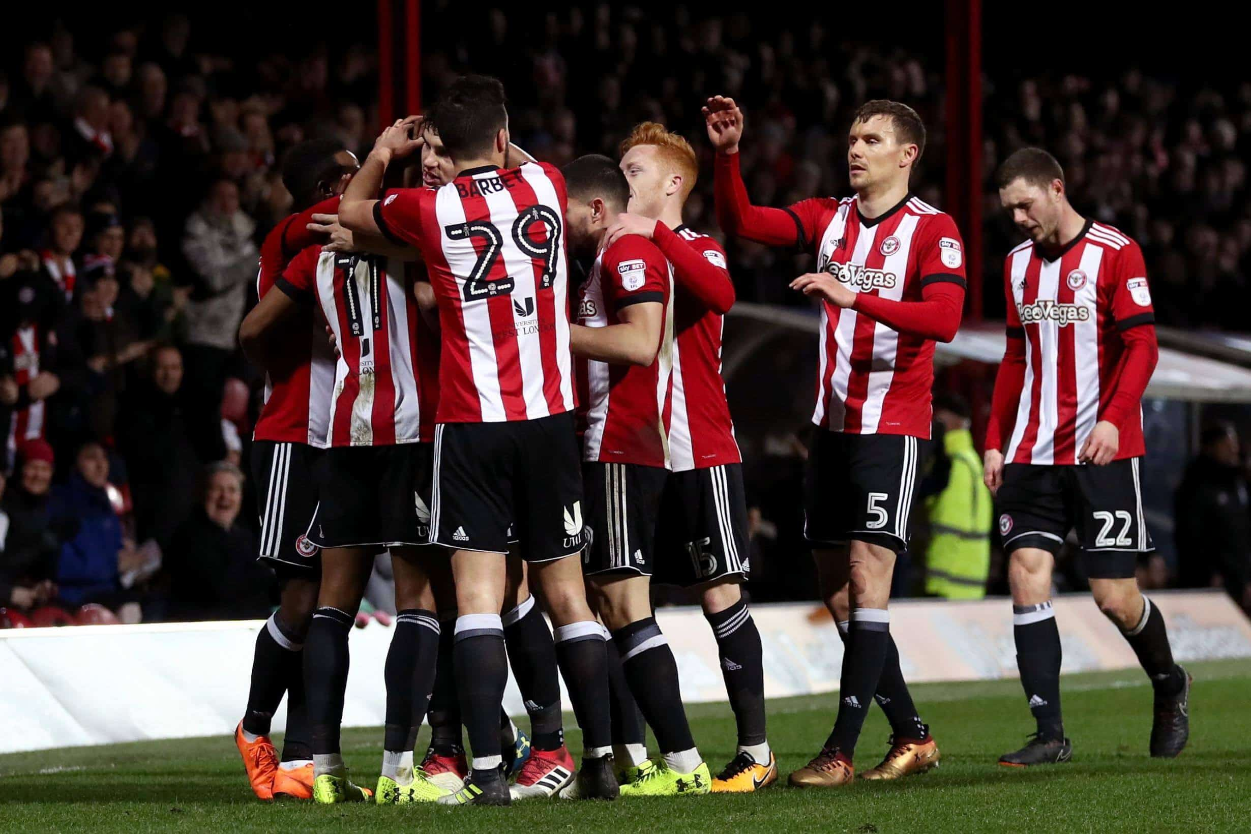 BRENTFORD football team 2019