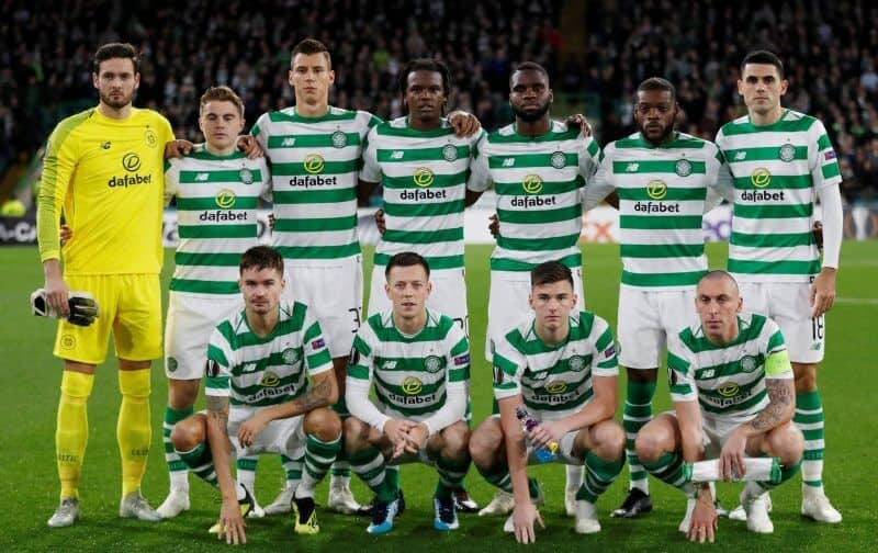 CELTIC team football 2019