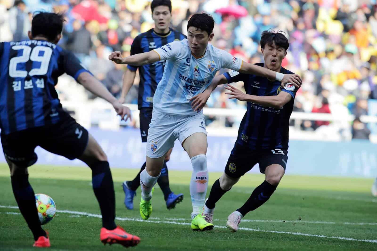 tim sepak bola DAEJEON KORAIL 2019