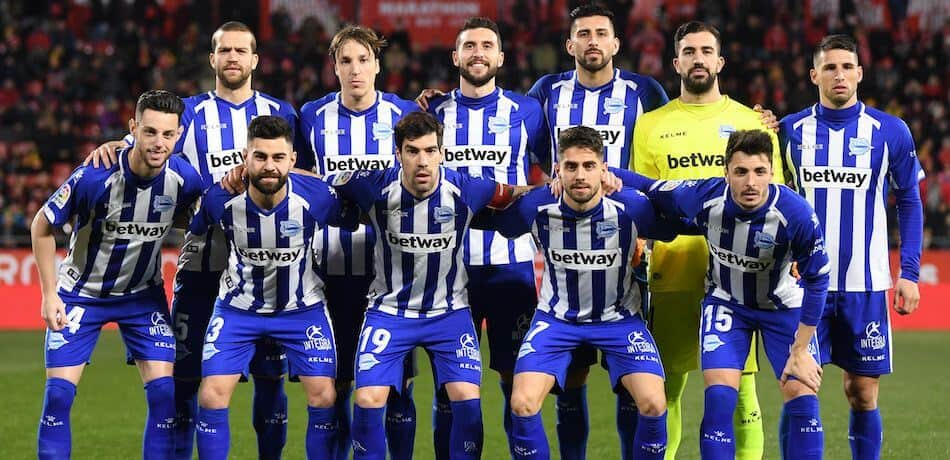 DEPORTIVO ALAVÉS football team 2019