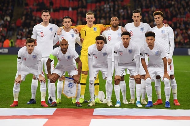 ENGLAND national football team 2019