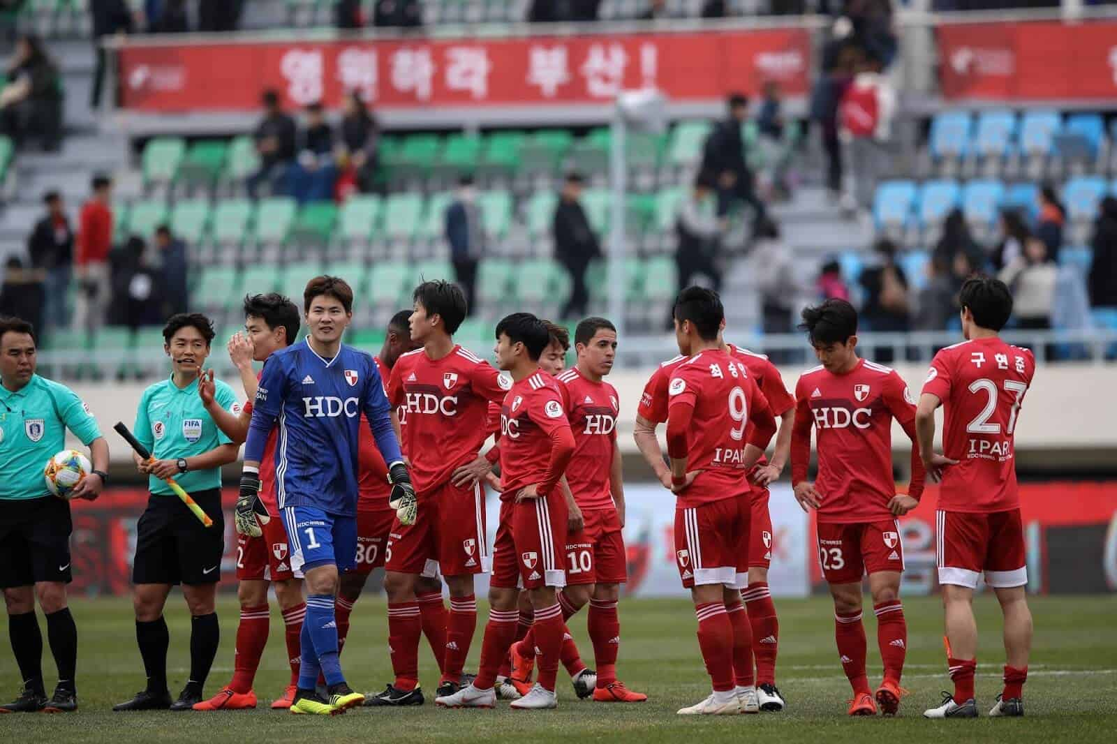 GANGNEUNG CITY football team 2019