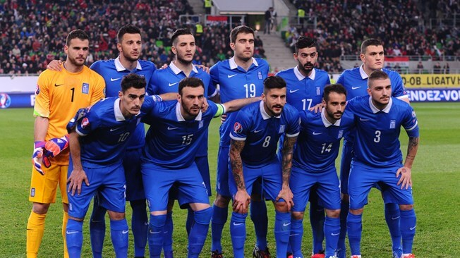 GREECE football team 2019