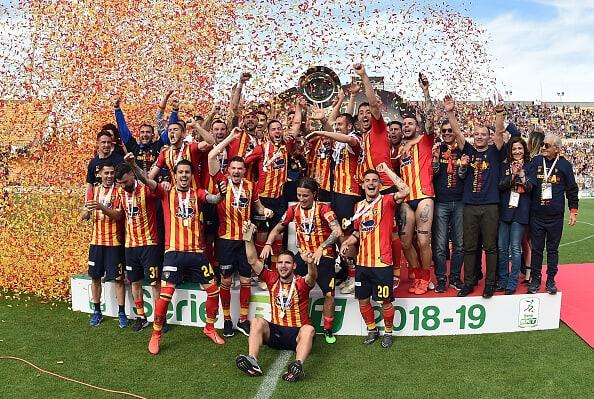 Tim sepak bola Lecce 2019