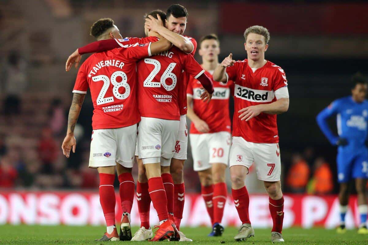 Tim sepak bola MIDDLESBROUGH 2019