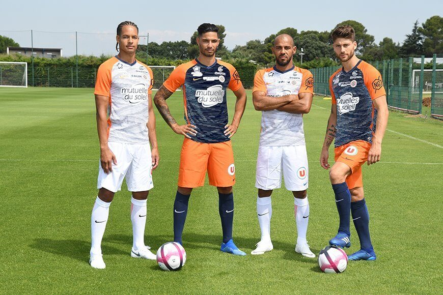 MONTPELLIER team football 2019