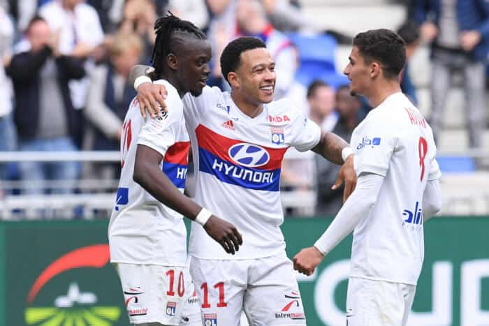 OLYMPIQUE LYONNAIS team football 2019