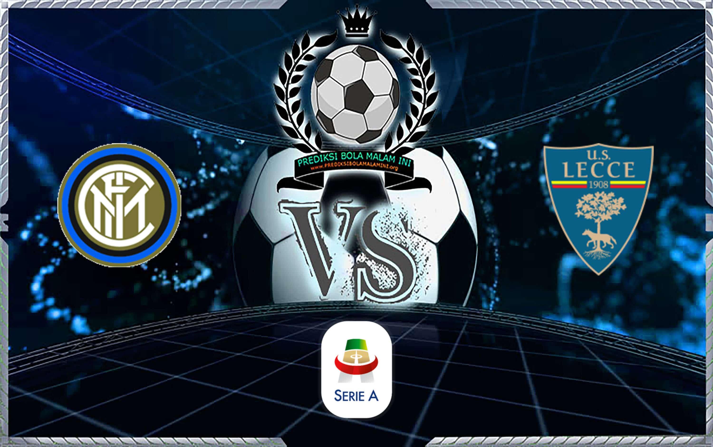 Prakiraan Skor Internazionale Vs Lecce 27 Agustus 2019
