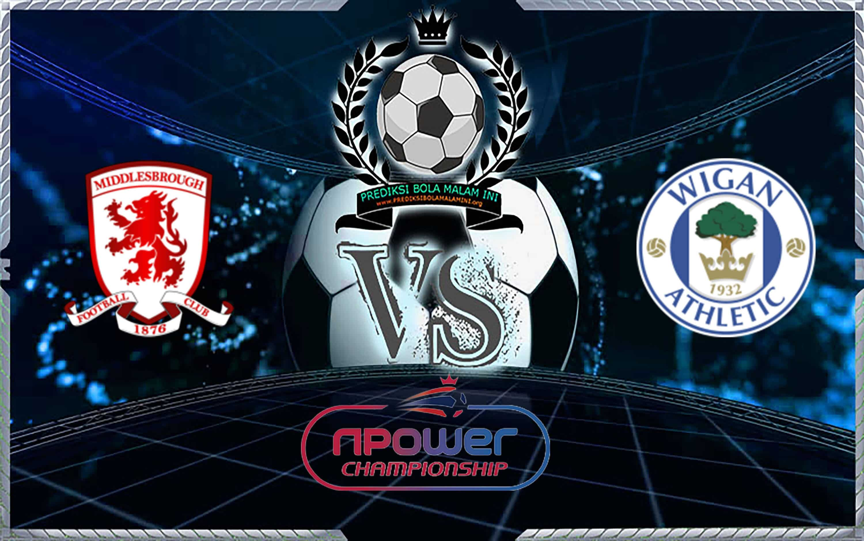Predixi Skor Middlesbrough Vs Wigan Atletik 21 Agustus 2019