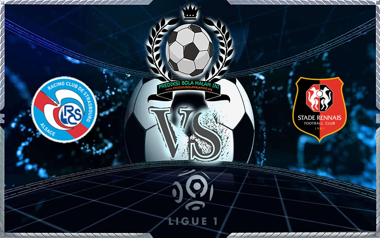 Prediksi Skor Strasbourg Vs Rennes 25 Agustus 2019