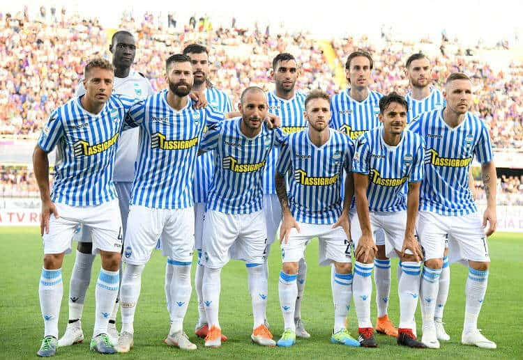 "Tim sepak bola SPAL 2019 ""width ="" 750 ""height ="" 517 ""/> </p> <p> <strong> <span style="