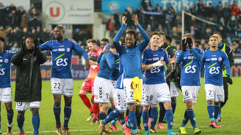 Strasbourg football team 2019