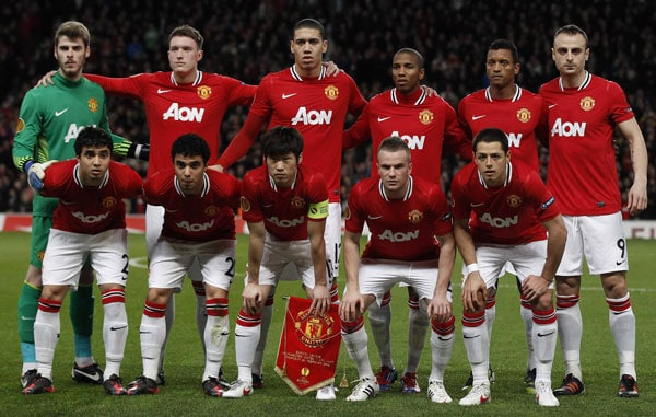 manchester united football team 2019
