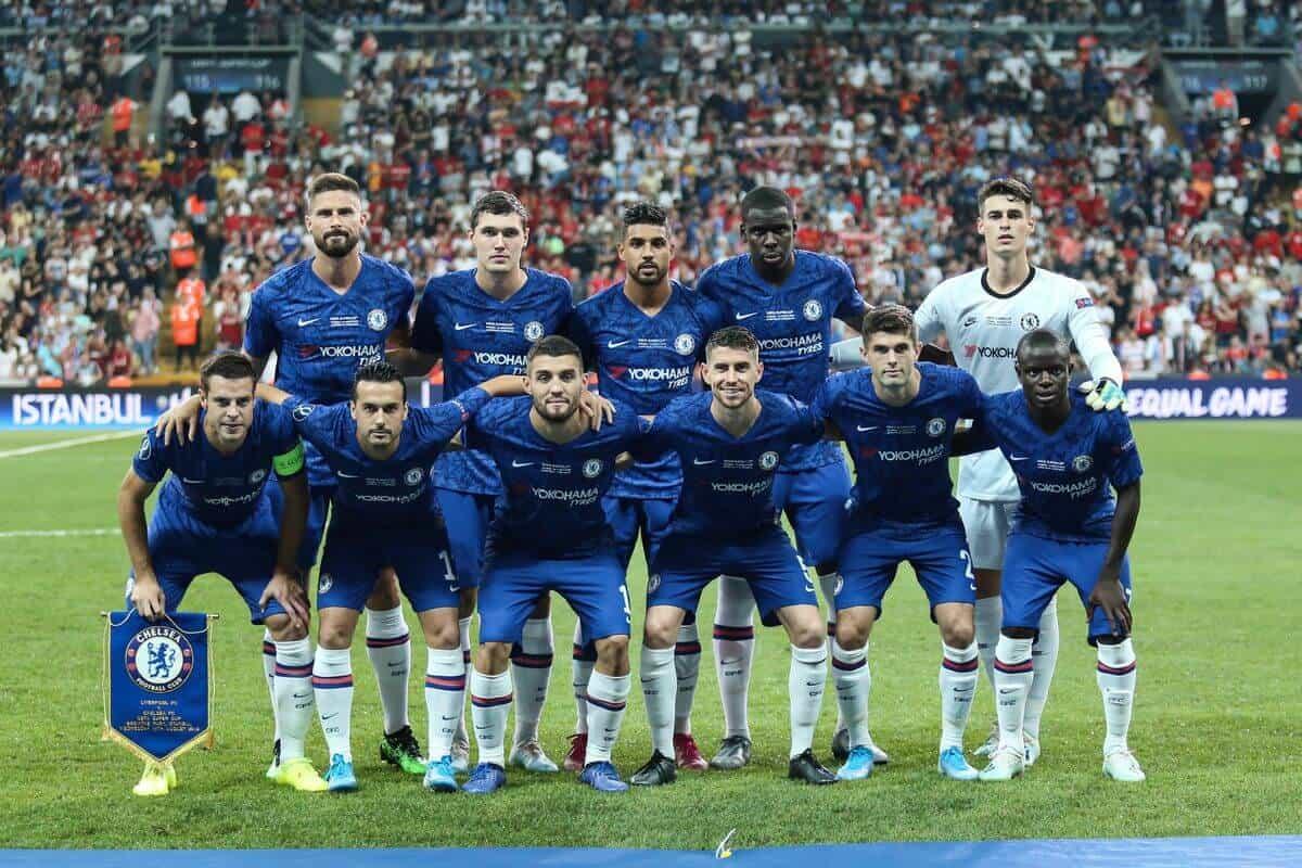 CHELSEA tim sepak bola 2019