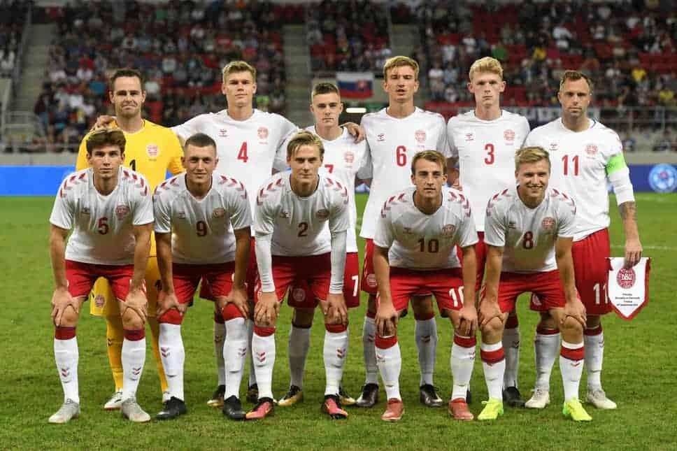 DENMARK tim sepak bola nasional 2019